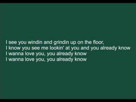 Akon - I wanna love you with lyrics