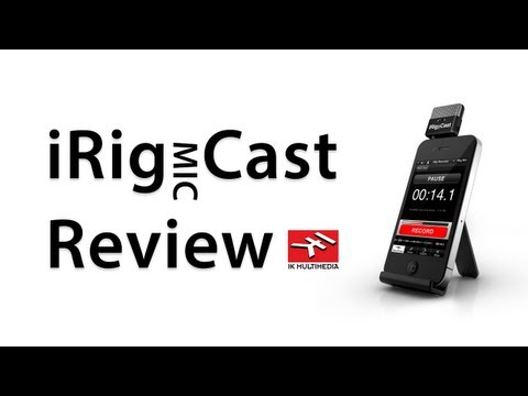 [Review] iRig MIC Cast - A Pocket-Sized Microphone For iPhone. iPad. and iPod Touch