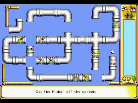 The Incredible Machine 2 Sierra On Line Inc.  1994  Tutorial, Easy and Medium Puzzles