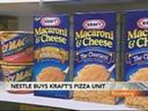 Nestle to Buy Kraft Pizza Business, Shun Cadbury Bid: Video