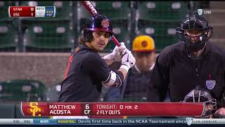 Baseball: USC 2, Utah 0 - Highlights 3/15/18