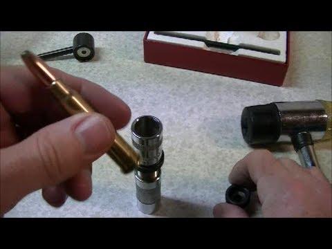 Reloading .303 British Rifle Ammunition using a Lee Loader Set
