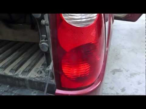 HOW TO CHANGE TAILLIGHT FORD EXPLORER SPORT TRAC