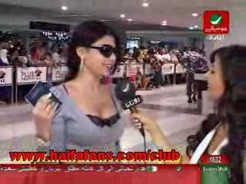 The Latest Interview With Haifa :  Akher El Akhbar/Rotana