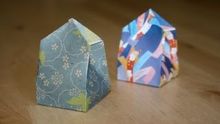 Christmas Origami - Gift Box