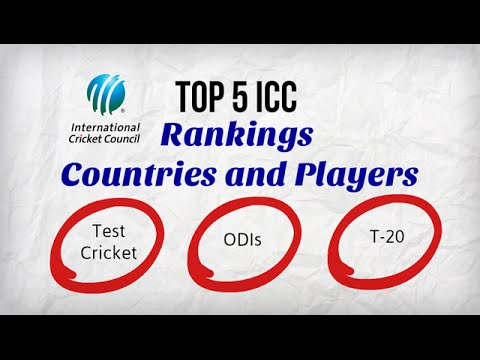 ICC Cricket Ranking 2014-Top 5 Countries and Top Players|Latest General Knowledge