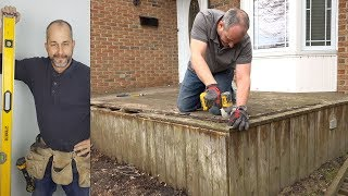 DIY Weekend Deck Project - Part 1 Deck Board Removal