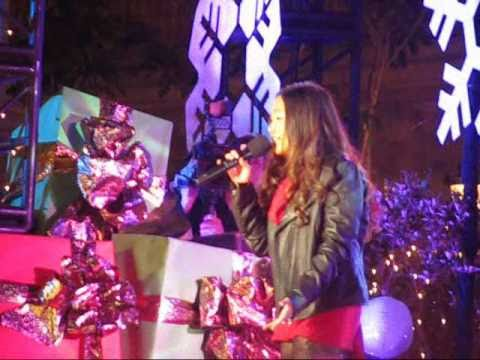 Charice - Jingle Bell Rock - The Grove Of LA Christmas Tree Lighting (11-21-10)