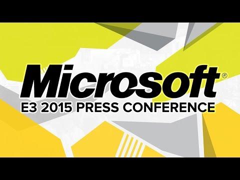 Microsoft Press Conference - E3 2015