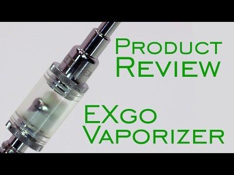 Product Review Yocan EXgo Vaporizer Pen Marijuana Wax