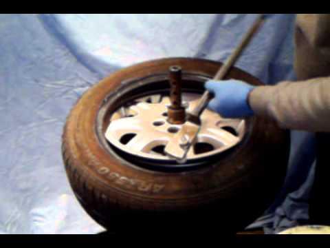 tyre bar car and bike alloys - YouTube