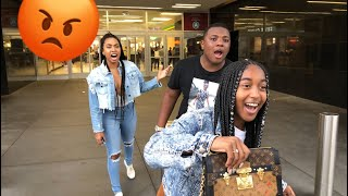I STOLE YOUNG EZEE BEST FRIEND NATALIE PURSE | SHE GOT SERIOUS