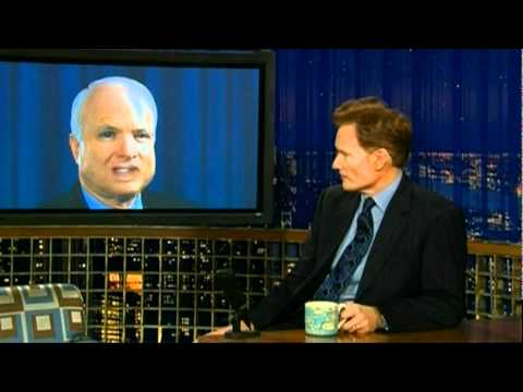 Conan O'Brien - Mock McCain Interview