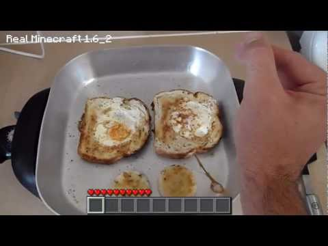 "Real Life Minecraft Cooking Episode 1 – ""Toads In The Hole"""
