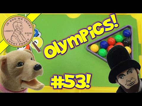 Shout-Out Time! (Video #53) Finger Sports Olympics with Dave, Butch & Abraham Lincoln