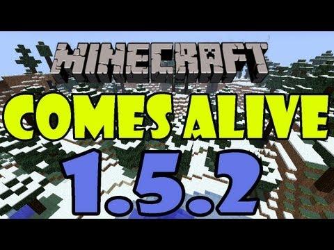Minecraft 1.5.2 - Como instalar Comes Alive para minecraft 1.5.2