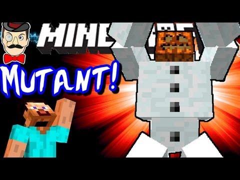 Minecraft MUTANT SNOW GOLEMS! Mutant Creatures Mod Showcase!