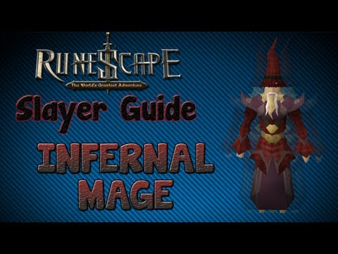 """Runescape 07″ – Slayer guide #21: Infernal Mages!"