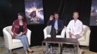 161013 Do姐 interviews Benedict Cumberbatch & Tilda Swinton