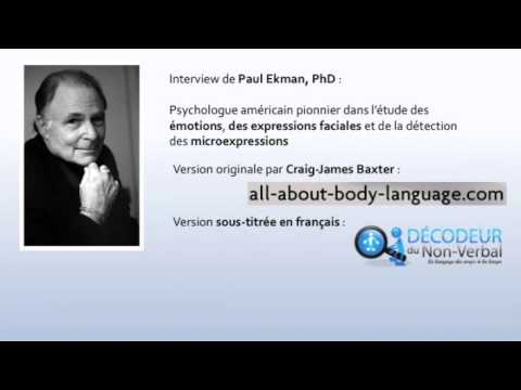 Interview de Paul Ekman