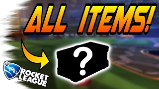 OFFICIAL CC5 CRATE Items RESULTS! - Rocket League Update: Player's Choice (Exotics, New Mysteries?)