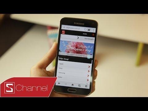 Schannel - Trên tay nhanh Samsung Galaxy S5 tại CellphoneS