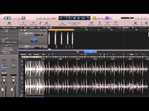 Logic Pro X. Часть 4 - работа с аудио-каналом