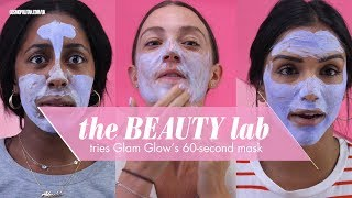 Glamglow Instamud 60-Second Pore-Refining Treatment   Review & Demo   Beauty Lab   Cosmopolitan UK