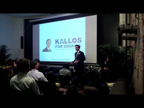 State of Civic Technology w/ 2013 Goals & #NYTMvotes Presentation by Tech Candidate Ben Kallos