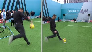 Kevin Nolan on FLAMES in Soccer AM Pro AM Challenge! 🔥