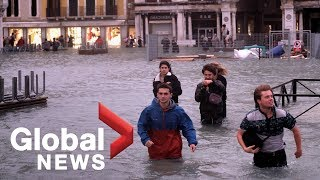 Venice flooding puts three-quarters of the city under its worst water levels in 6 years