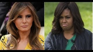 MELANIA GETS SICK SURPRISE FROM MICHELLE