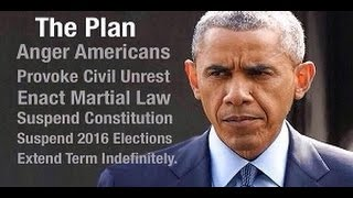 **URGENT** RIOTS, Martial Law & Election Suspension COMING? Barack Obama Orders Welfare 2B Cut Off!