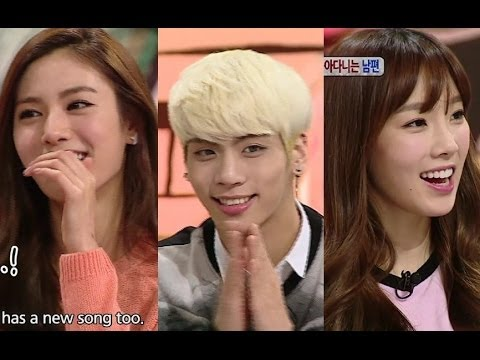 Hello Counselor - Taeyeon of Girls Generation Jonghyun of SHINee...
