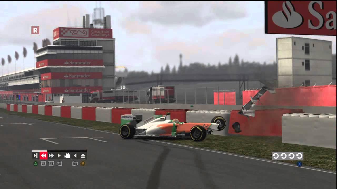 Formula Crash 2011 Formula 1 2011 Horrible