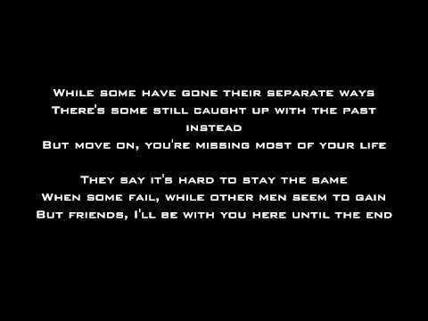 Until The End - Avenged Sevenfold - Lyrics video