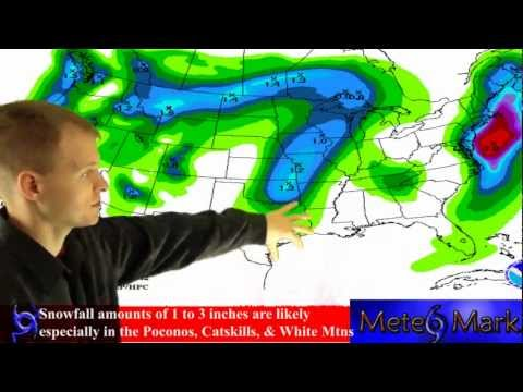 Winter Storm Athena Nor Easter affects Northeast US : 11/7/2012