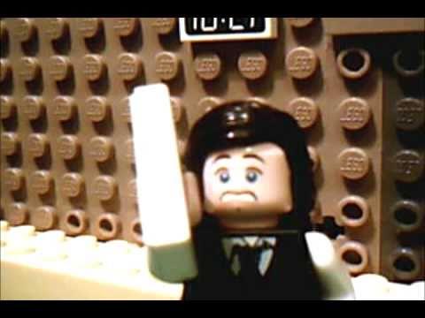 Scream 4 Official Trailer IN LEGO!!!