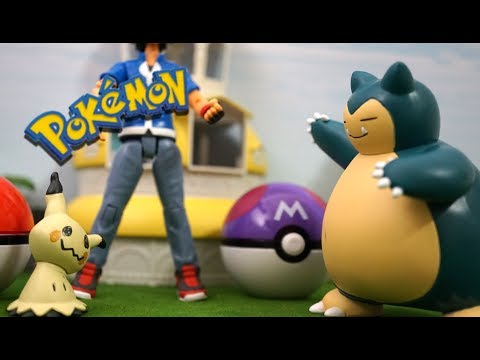 Pokemon ! 「Mimikyu VS Snorlax fights at pokemon battle dice」「ミミッキュVSカビゴン!ポケモンダイスバトル!!」