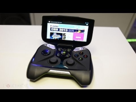 Nvidia Shield !! CES 2013 / le Tegra 4 / Live Demo ! / Unboxing ?!  FR