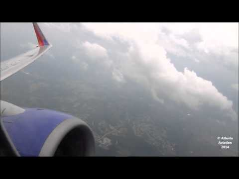 Southwest Airlines 737-7H4 [N488WN] Takeoff from ALB (HD)