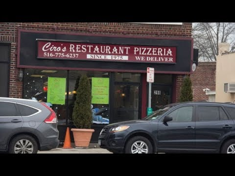Review: Sicilian Pizza at Ciro's - Floral Park, NY 1/2018