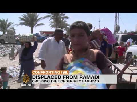 Humanitarian crisis in Iraq worsens as thousands flee Ramadi