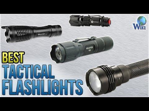 10 Best Tactical Flashlights 2018
