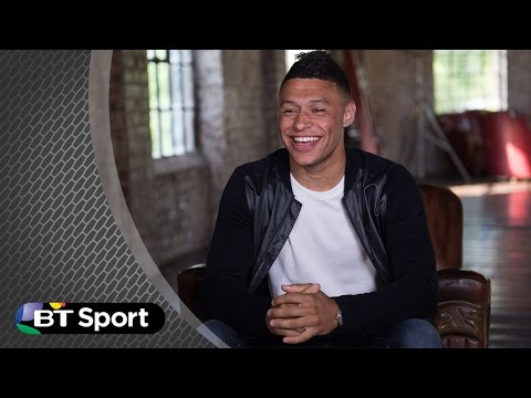 Alex Oxlade-Chamberlain tricks and skills challenge | BT Sport