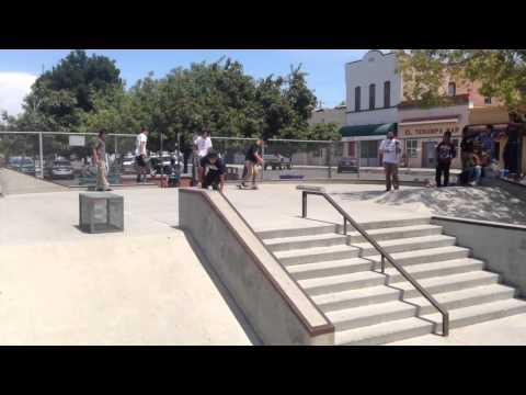 The Future X Embassador Skateboards: Lemoore Skatepark Best Trick Contest