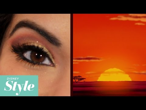 Lion King Inspired Makeup Tutorial | Disney Style