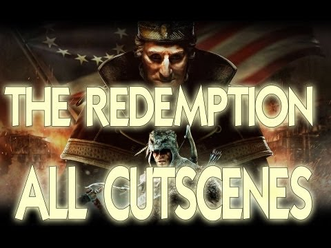 Assassin's Creed 3 Tyranny of King Washington The Redemption All Cutscenes Full Movie