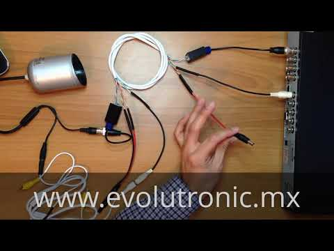 Como Transmitir Audio y Video de Camaras de Seguridad Cable UTP | Evolutronic