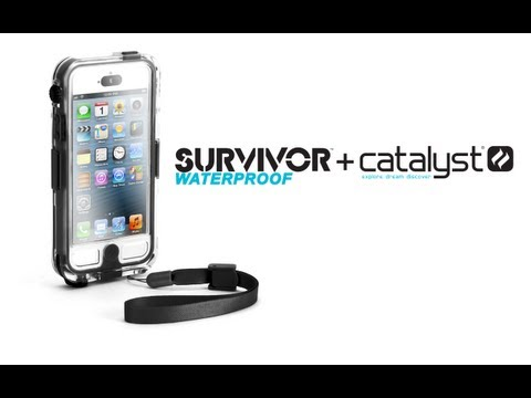 Griffin Survivor Waterproof Catalyst Case for Apple iPhone 5